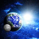 planety tła naziemnych pełne gwiazd fotografia royalty free