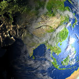 planety ziemi azji Obraz Stock