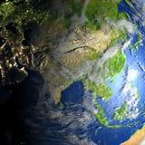 planety ziemi azji Obrazy Royalty Free