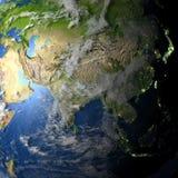planety ziemi azji royalty ilustracja