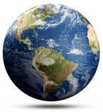 Planety ziemi chmury ilustracja wektor