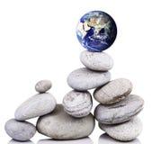 Planety ziemia na skałach Obraz Stock