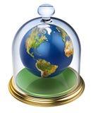 Planety ziemia ochrania fotografia royalty free