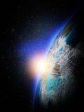 Planety ziemia od przestrzeni Obrazy Stock