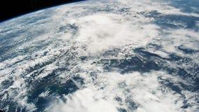 Planety ziemia widzieć od ISS Piękna planety ziemia obserwująca od przestrzeni Nasa czasu upływu strzelaniny ziemia od przestrzen zbiory wideo