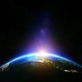 Planety Ziemska noc Fotografia Stock