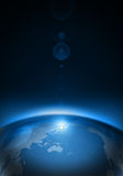 planety ziemska przestrzeń Zdjęcie Royalty Free