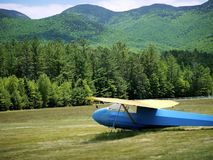 Planeur dans New Hampshire Photos stock