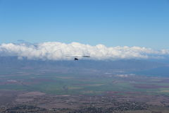Planeur de coup chez Maui Hawaï Images stock
