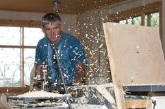 Planeuse de Woodshop Photographie stock libre de droits
