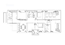 Planhuis Royalty-vrije Stock Afbeelding