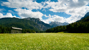 Planica Valley Royalty Free Stock Image