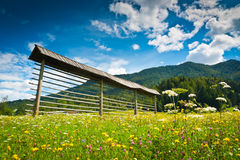 Planica Valley Royalty Free Stock Photography