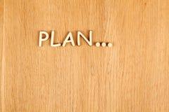 Planificación Imágenes de archivo libres de regalías