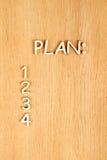 Planificación Foto de archivo libre de regalías