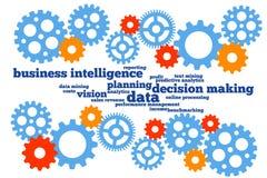 Planificación de empresas stock de ilustración