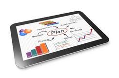 Planificación de mercados Imagen de archivo libre de regalías