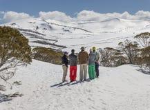Planificación de Ski Trip Foto de archivo libre de regalías