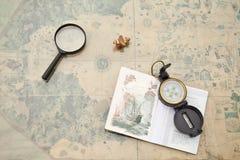 Planificación de un viaje Foto de archivo