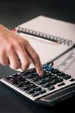 Planificación financiera Fotografía de archivo libre de regalías