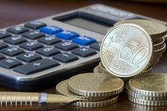 Planificación financiera imagen de archivo