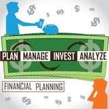 Planificación financiera Foto de archivo