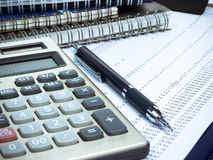 Planificación financiera Imágenes de archivo libres de regalías