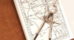Planificación hacia fuera de la ruta foto de archivo libre de regalías