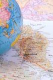 Planificación viajar Imagen de archivo libre de regalías
