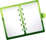 Planificador de la agenda Fotos de archivo libres de regalías