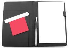 Planificador de la agenda del asunto Fotos de archivo libres de regalías