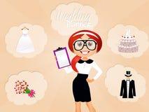 Planificador de la boda libre illustration