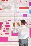 Planificador del ingeniero Imagen de archivo libre de regalías