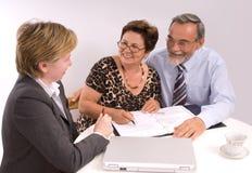 Planificador financiero Imágenes de archivo libres de regalías