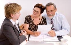 Planificador financiero Imagen de archivo libre de regalías
