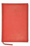 Planificador rojo Fotografía de archivo