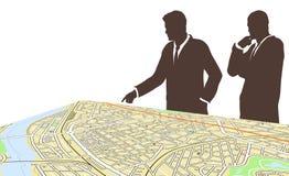 Planificadores de la ciudad Imagen de archivo