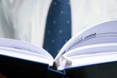 Planificateur 2008 d'affaires Photo stock