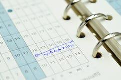 Planificateur de temps Image stock