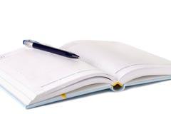 Planificateur et crayon lecteur de jour Image libre de droits