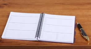 Planificateur hebdomadaire Image libre de droits