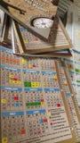 Planificateur pour l'école Image stock