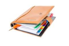 Planificateur quotidien avec le crayon lecteur Photos stock