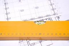 Planification de construction Photos libres de droits