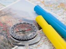 Planification de course Photo libre de droits