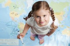 Planification de course Images stock
