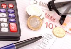 Planification de finances Photographie stock
