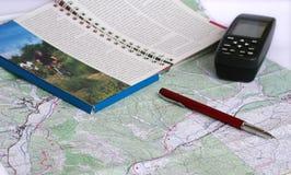 Planification de l'aventure images libres de droits