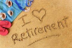 Planification de la retraite Image stock