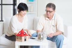 Planification de la retraite Photos libres de droits